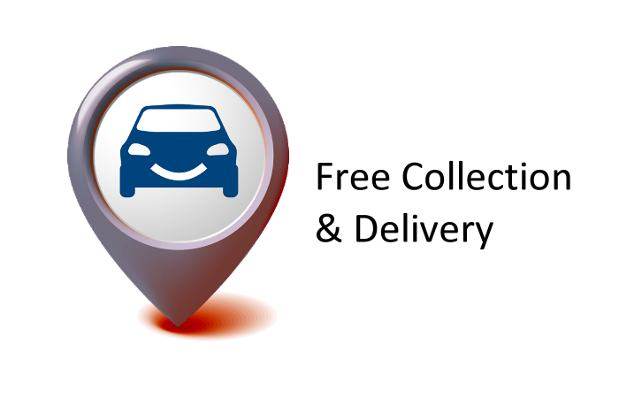 Free Car Collection Delivery